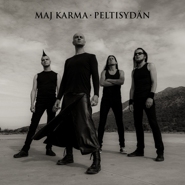 Album cover for Peltisydän by Maj Karma