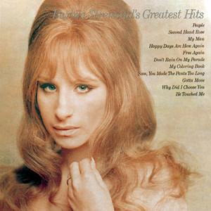 Barbra Streisand's Greatest Hits Albumcover