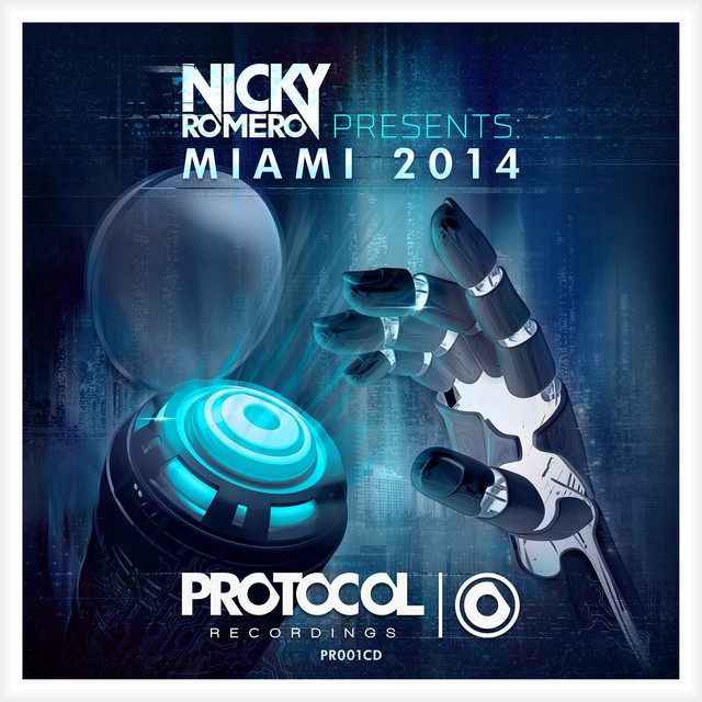 Nicky Romero presents Miami 2014 Albumcover