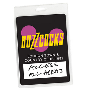 Access All Areas - Buzzcocks Live Town & Country Club 1992 (Audio Version) album