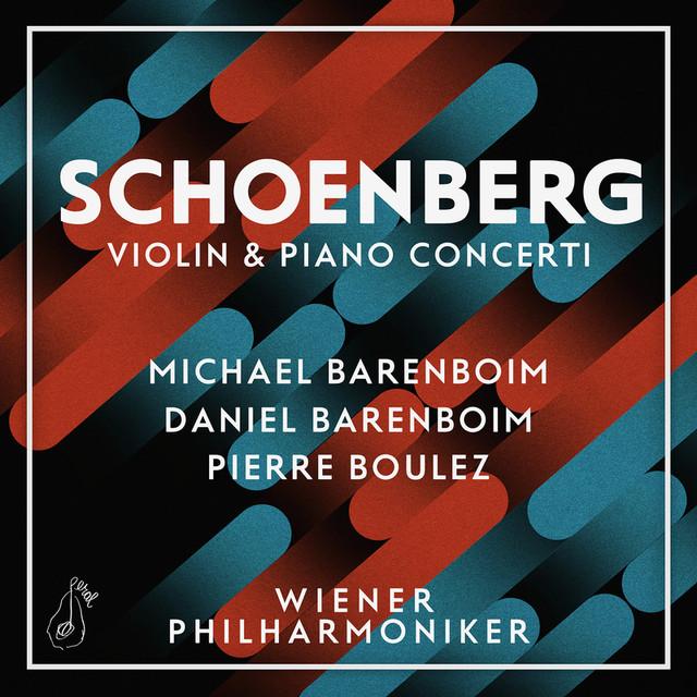 Schoenberg: Violin & Piano Concerti Albumcover