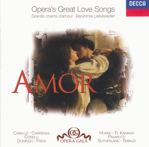 Amor - Opera's Great Love Songs album