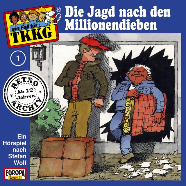 001 - Die Jagd nach den Millionendieben Cover