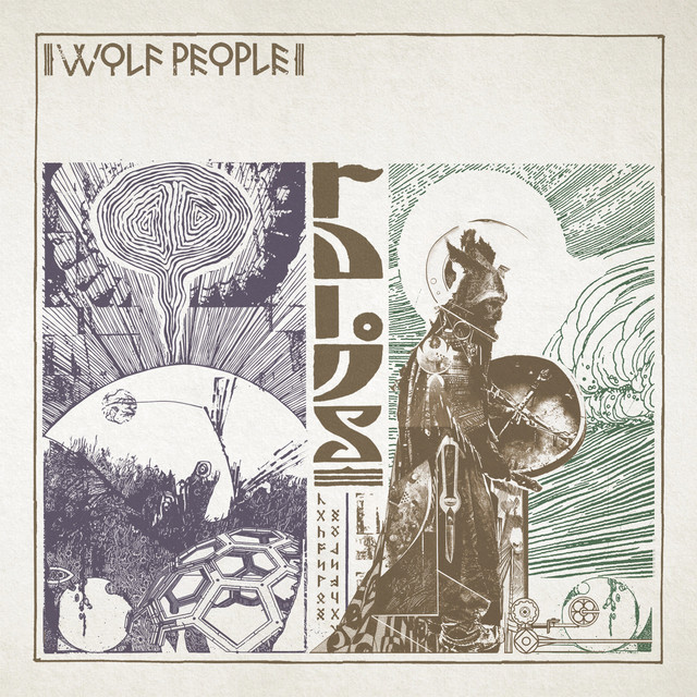 Album cover for Ruins by Wolf People
