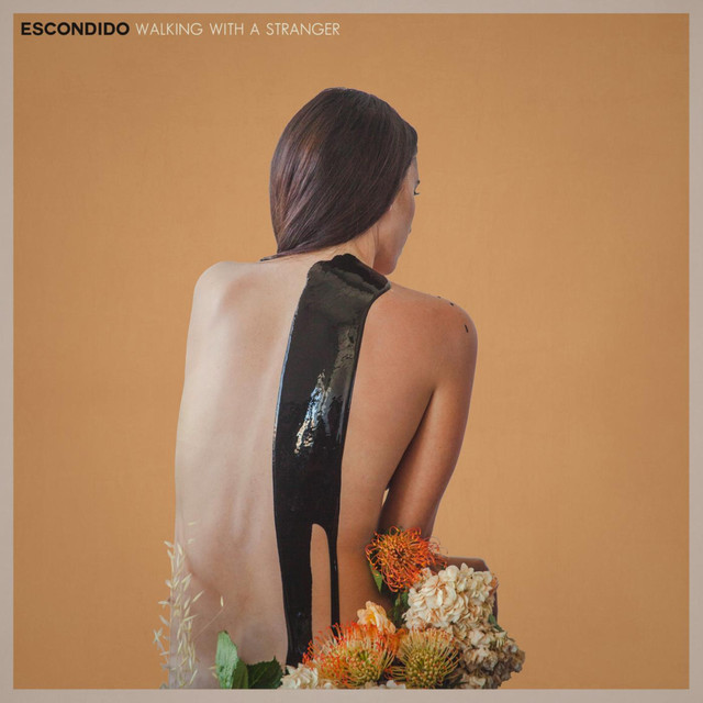 Album cover for Walking With a Stranger by Escondido