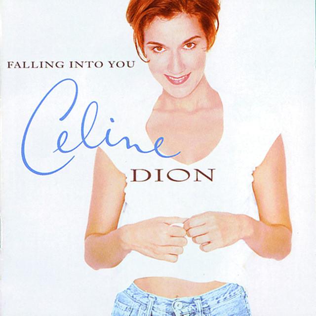 Skivomslag för Céline Dion: Falling Into You