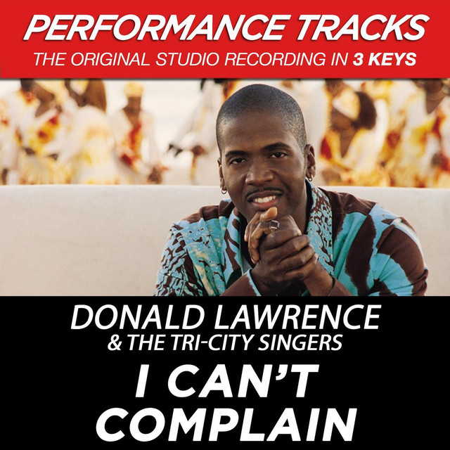 I Can't Complain (Performance Tracks) - EP