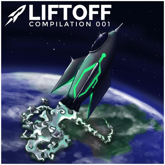 Blasternaut 001: Liftoff Albumcover