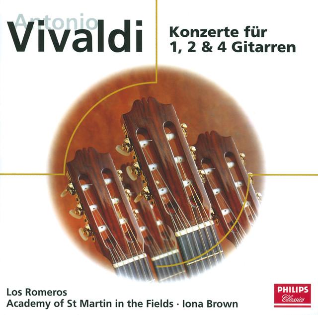 Vivaldi: Gitarrenkonzerte (Eloquence) Albumcover