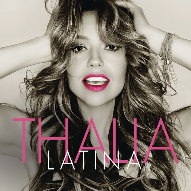 Album cover for Latina by Thalía
