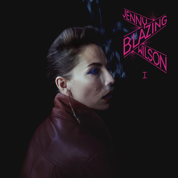 Skivomslag för Jenny Wilson: Blazing