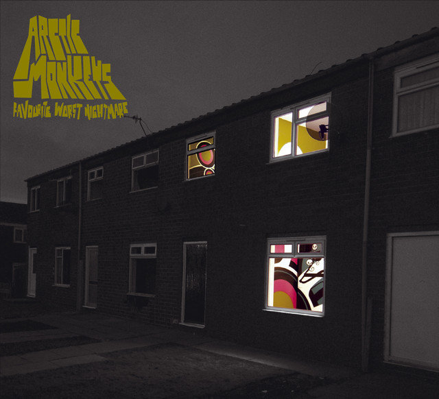 Album cover for Favourite Worst Nightmare by Arctic Monkeys