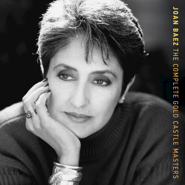 Joan Baez The Complete Gold Castle Masters album cover