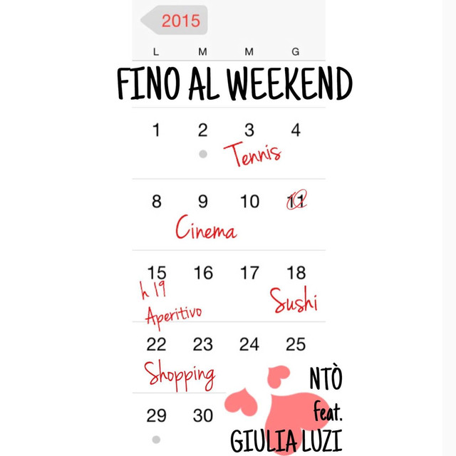 Ntò, Giulia Luzi Fino al weekend album cover