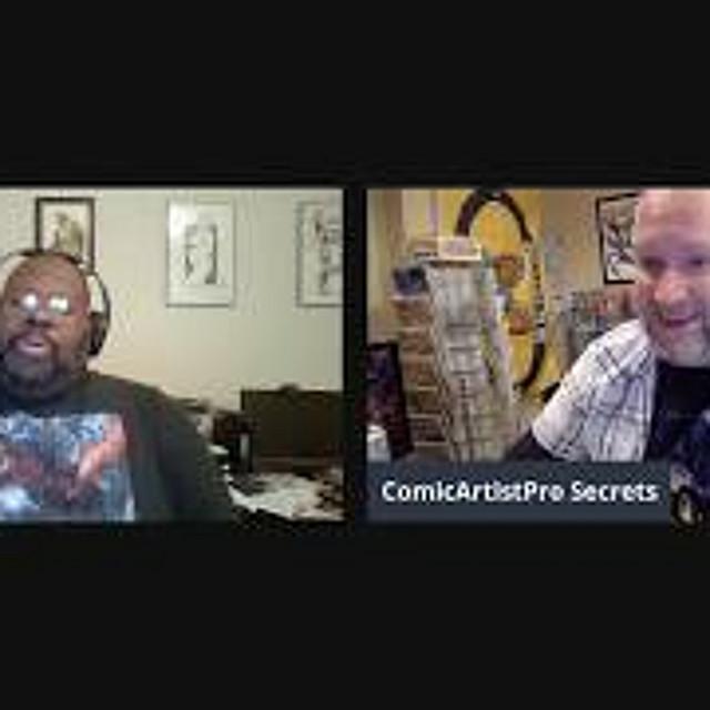 Ethan Van Sciver talks Cyberfrog, The Flash, and  Green Lantern Rebirth - JillStream