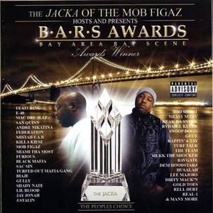The Jacka of The Mob Figaz Hosts and Presents: B.A.R.S. Awards Albumcover