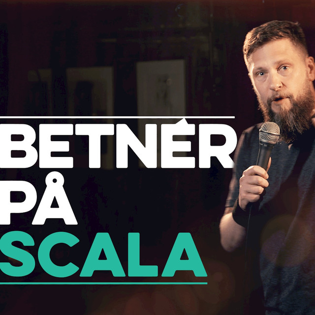 Album cover for Betnér på Scala by Magnus Betnér
