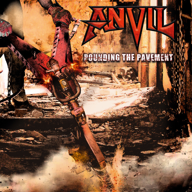 Anvil Pounding the Pavement album cover