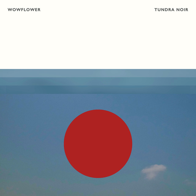 Album cover for tundra noir by Wowflower