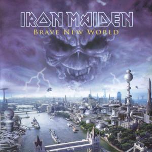 Iron Maiden The Thin Line Between Love and Hate cover