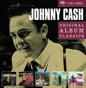 Johnny Cash Slipcase Albumcover