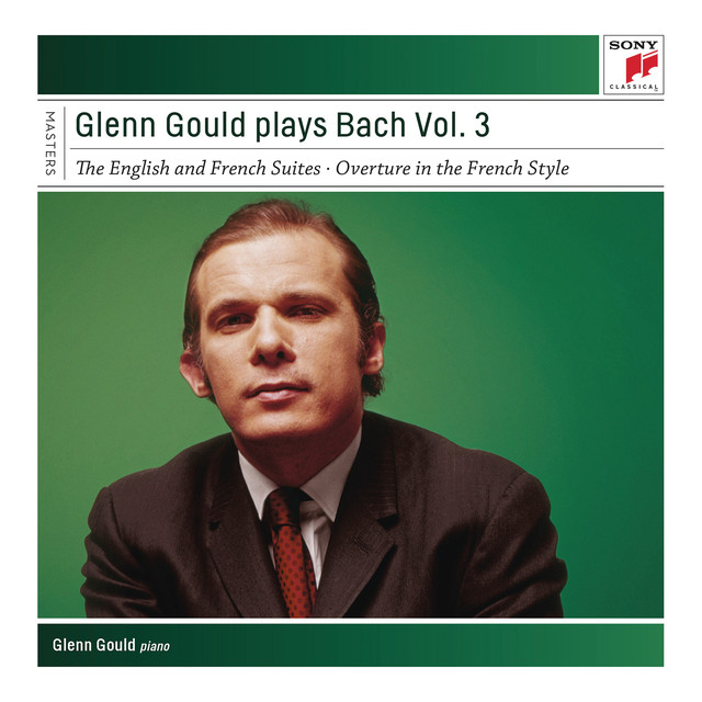 Glenn Gould Plays Bach, Vol. 3 - English and French Suites Albumcover