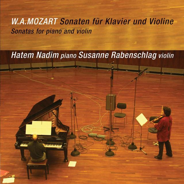 W.A. Mozart: Sonaten für Klavier und Violine Albumcover