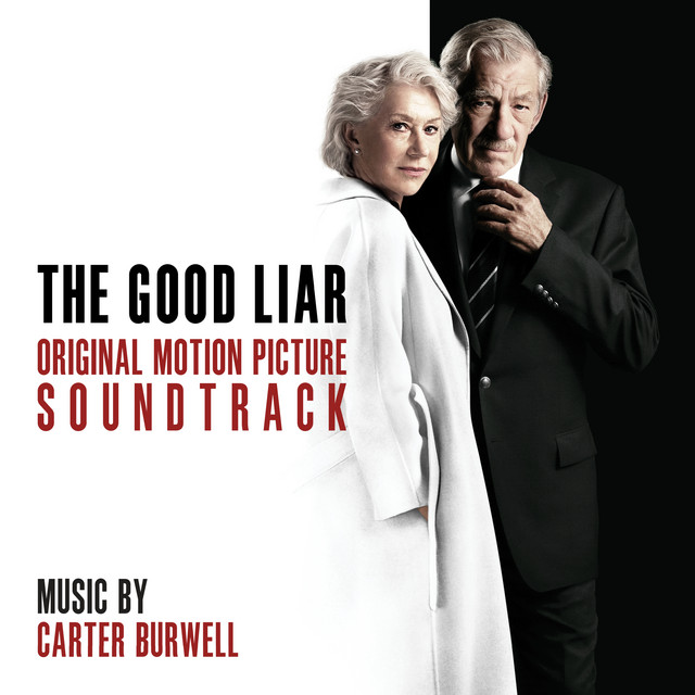 Album cover for The Good Liar (Original Motion Picture Soundtrack) by Carter Burwell