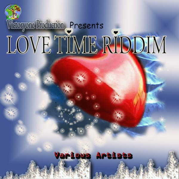 Love Time Riddim Albumcover