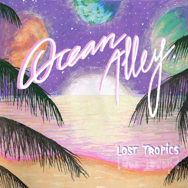 Album cover for Lost Tropics by Ocean Alley