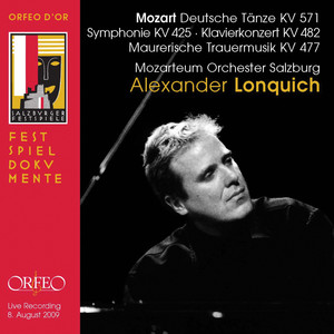 Mozart: 6 German Dances, Symphony No. 36 in C Major & Piano Concerto No. 22 in E-Flat Major (Live) Albümü