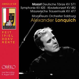 Mozart: 6 German Dances, Symphony No. 36 in C Major & Piano Concerto No. 22 in E-Flat Major (Live) Albümü