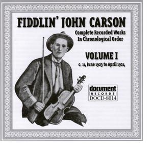 Fiddlin John Carson Vol. 1 1923 - 1924 album