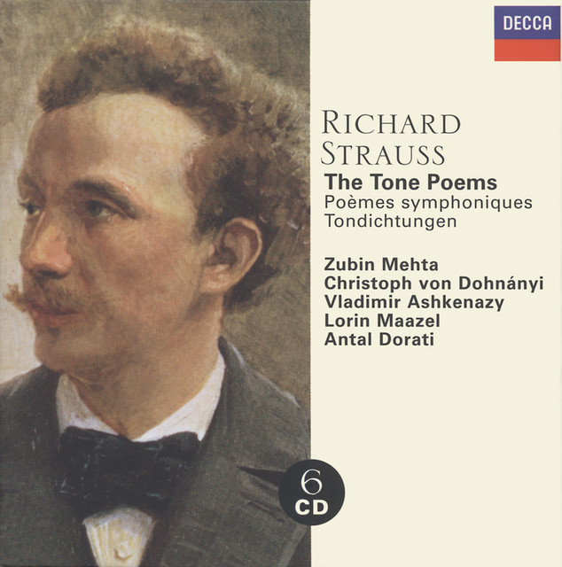 Strauss, Richard: The Tone Poems Albumcover