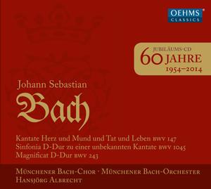 60 years of the Munich Bach Choir album