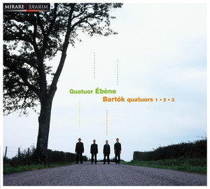 Bartók: Quatuors Nos. 1, 2 & 3 Albümü