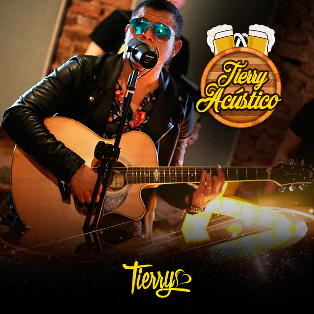 Album cover for Tierry Acústico by Tierry