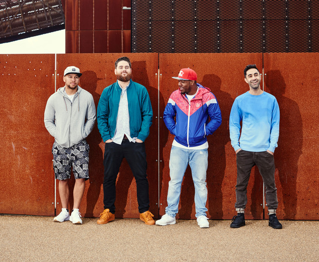 Rudimental Lay It All on Me cover