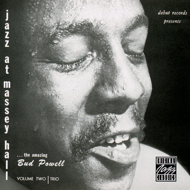 Bud Powell Trio Jazz At Massey Hall, Volume 2 album cover