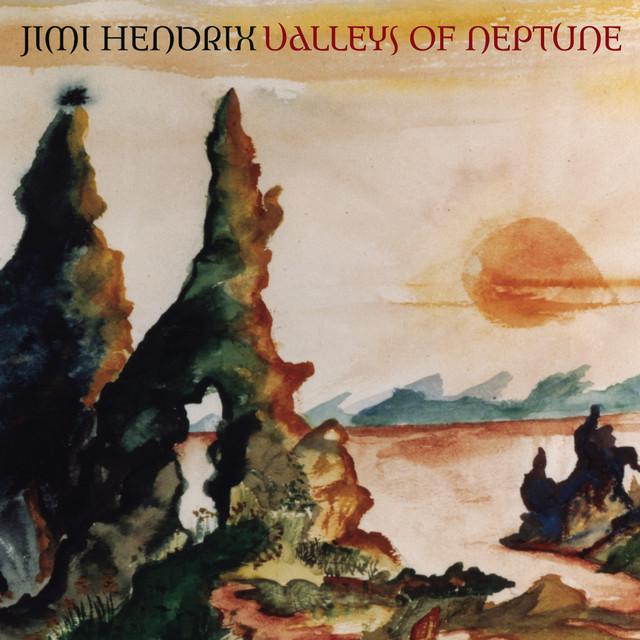 Jimi Hendrix Valleys of Neptune album cover