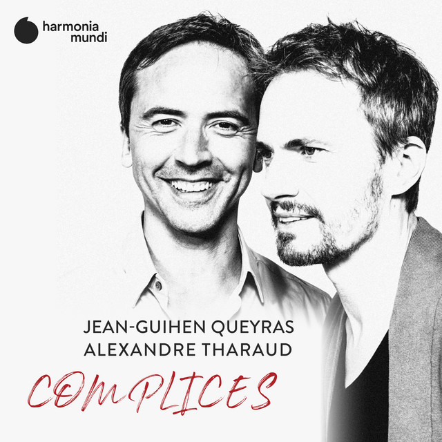 Album cover for Complices by Alexandre Tharaud, Jean-Guihen Queyras