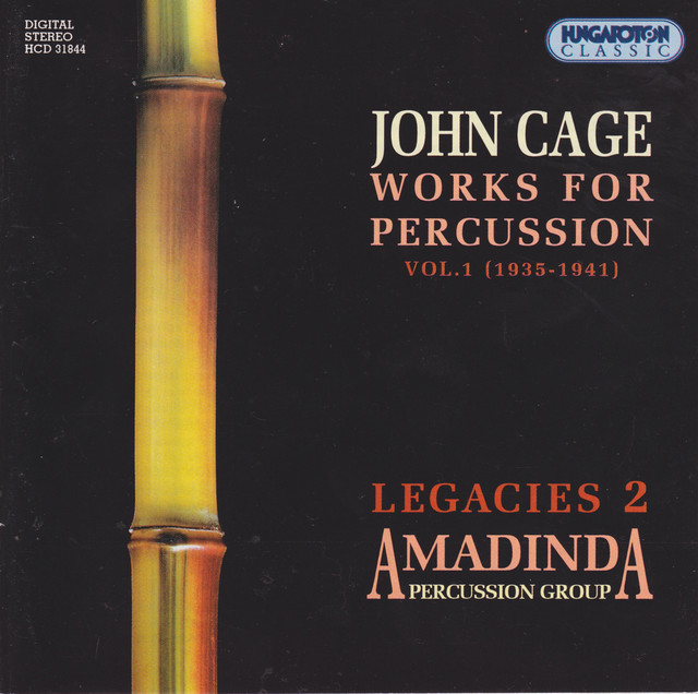Living Room Music: IV. End. By John Cage, Amadinda Percussion Group