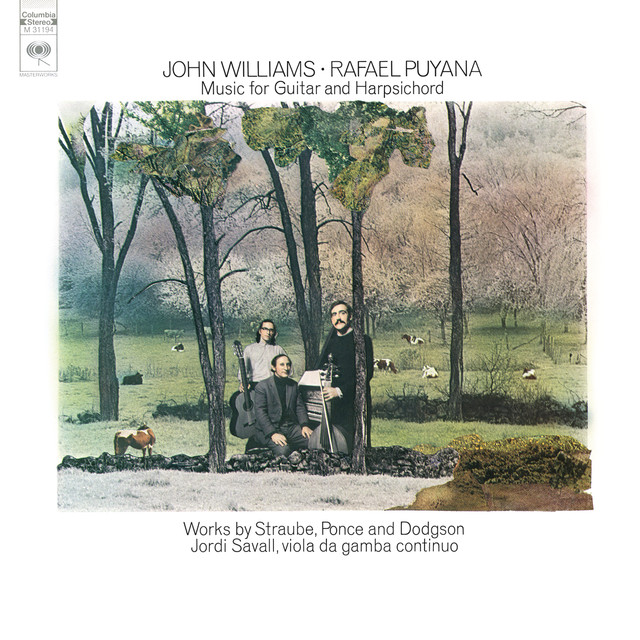 John Williams & Rafael Puyana: Works by Straube, Ponce and Dodgson Albumcover