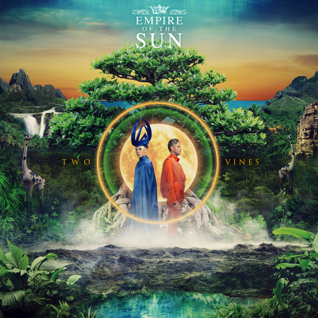 Album cover for Two Vines (Deluxe) by Empire of the Sun