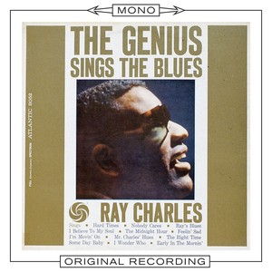 The Genius Sings the Blues Albumcover