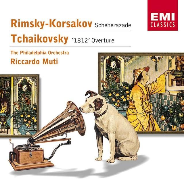 Rimsky-Korsakov: Scheherazade - Tchaikovsky: '1812' Overture Albumcover