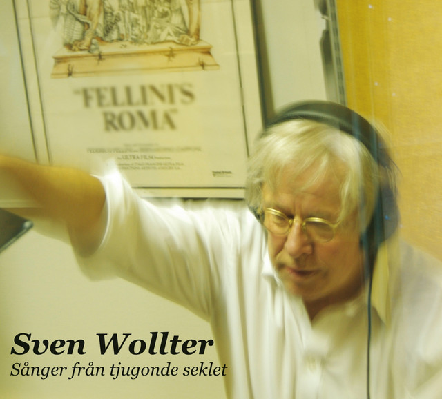 Skivomslag för Sven Wollter: Sånger Från Tjugonde Seklet