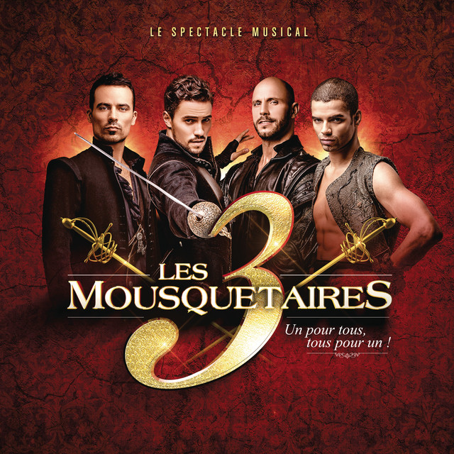 Album cover for Les 3 Mousquetaires by Les 3 mousquetaires