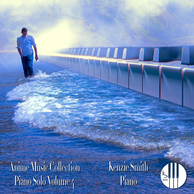 Album cover for Anime Music Collection Piano Solo, Vol. 4 by Kenzie Smith Piano