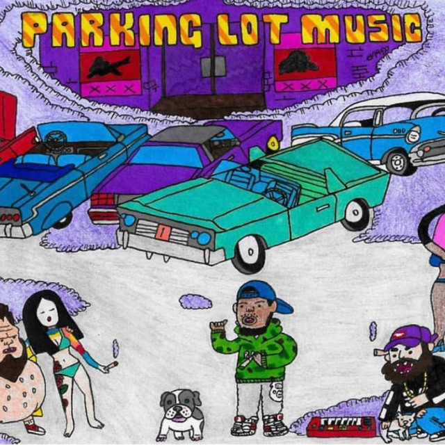 Album cover for Parking Lot Music by Curren$y